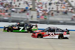 Regan Smith, JR Motorsports Chevrolet and Austin Dillon, Richard Childress Racing Chevrolet