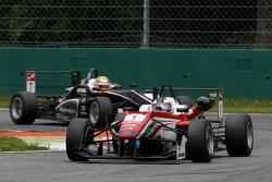 Felix Rosenqvist, Prema Powerteam Dallara Mercedes-Benz y Charles Leclerc, Van Amersfoort Racing Dal