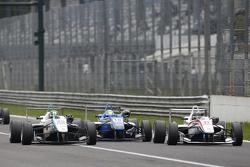 Nabil Jeffri, Motopark Dallara Volkswagen y Nicolas Pohler, Double R Racing Dallara Mercedes-Benz co