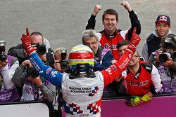 Il vincitore Oliver Rowland, Fortec Motorsports