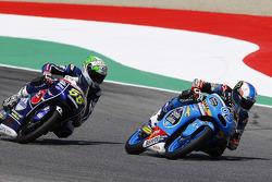 Jorge Navarro, Estrella Galicia 0,0 et Andrea Locatelli, Gresini Racing Team Moto3