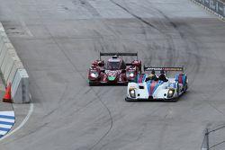 #07 SpeedSource Mazda Prototype: Joel Miller, Tom Long sowie #8 Starworks Motorsport, ORECA FLM09: R