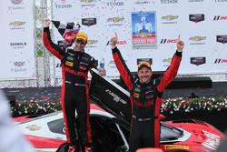 Ganadores de la carrera, #31 Action Express Racing Corvette DP: Eric Curran, Dane Cameron
