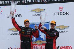 Racewinnaars #31 Action Express Racing Corvette DP: Eric Curran, Dane Cameron