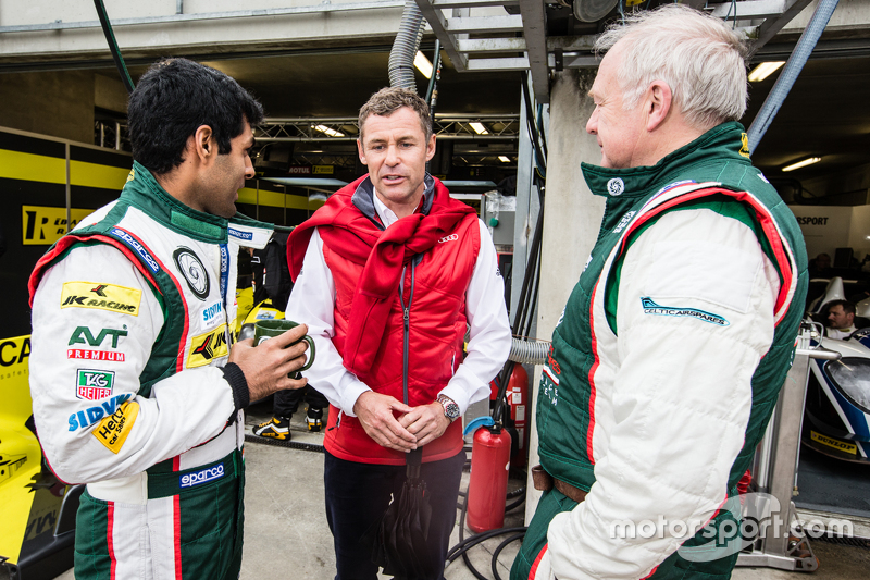 Karun Chandhok und Tom Kristensen