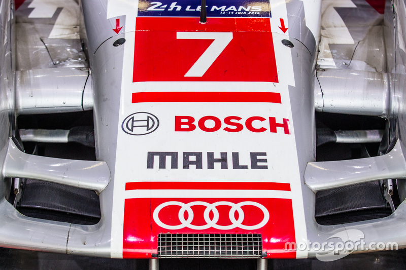 #7 Audi Sport Team Joest Audi R18 e-tron quattro Деталі носу спойлера