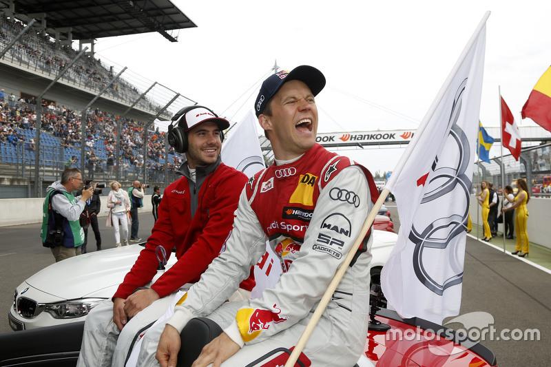 Miguel Molina, Audi Sport Team Abt Audi RS 5 DTM and Mattias Ekström, Audi Sport Team Abt Sportsline