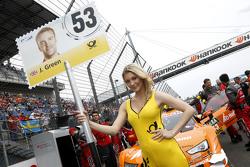 Chica de la parrilla de Jamie Green, Audi Sport Team Rosberg Audi RS 5 DTM