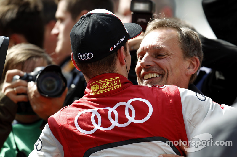 Il vincitore Jamie Green, Audi Sport Team Rosberg Audi RS 5 DTM