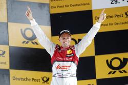 Podium: Winner Jamie Green, Audi Sport Team Rosberg Audi RS 5 DTM