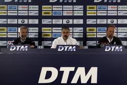 Press Conference, Jens Marquardt, BMW Motorsport Director, Dieter Gass, Audi Sport, Ulrich Fritz, Me