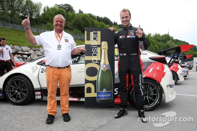 Kevin Gleason, Honda Civic TCR, West Coast Racing pole position