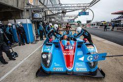 #29 Pegasus Racing, Morgan LM P2: Ho-Pin Tung, David Cheng, Leo Roussel