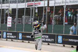 Le vainqueur Sébastien Bourdais, KV Racing Technology