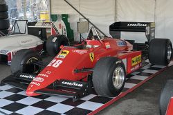 A historic Grand Prix car
