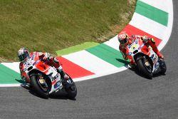Andrea Dovizioso et Andrea Iannone, Ducati Team