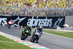 Valentino Rossi, Yamaha Factory Racing y Pol Espargaró, Tech 3 Yamaha