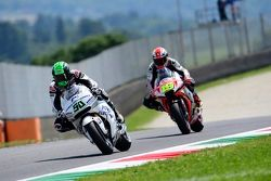 Eugene Laverty, Aspar Racing Team Honda, et Alvaro Bautista, Aprilia Racing Team Gresini