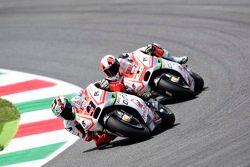 Danilo Petrucci y Yonny Hernández, Pramac Racing Ducatis