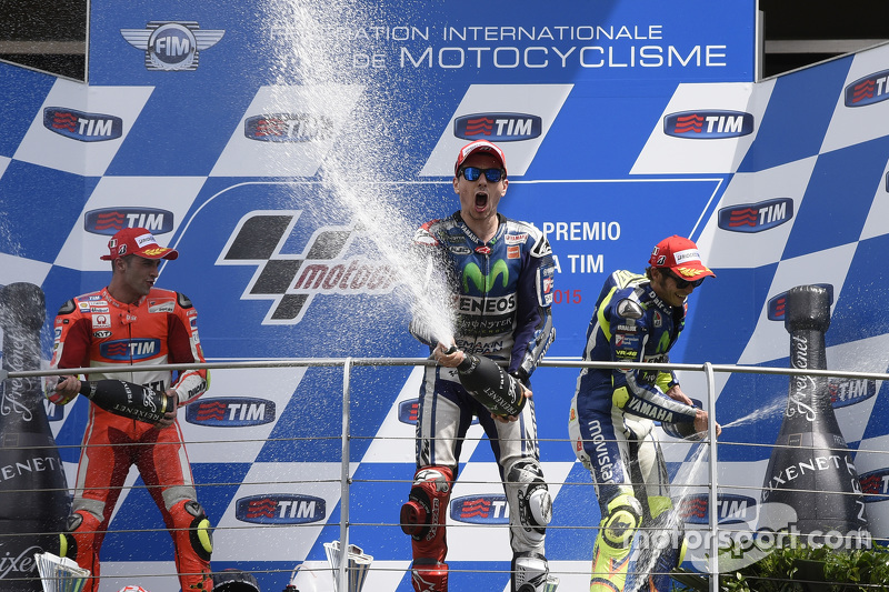 36- GP de Italia 2015, Yamaha