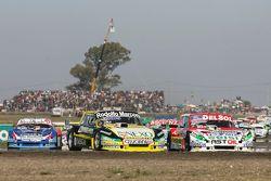 Omar Martínez, Martinez Competicion Ford y Juan Pablo Gianini, JPG Racing Ford con Matías Rodríguez,