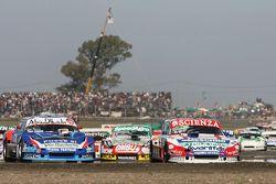Matias Jalaf, Alifraco Sport Ford y Matias Rodriguez, UR Racing Dodge, Facundo Ardusso, Trotta Compe