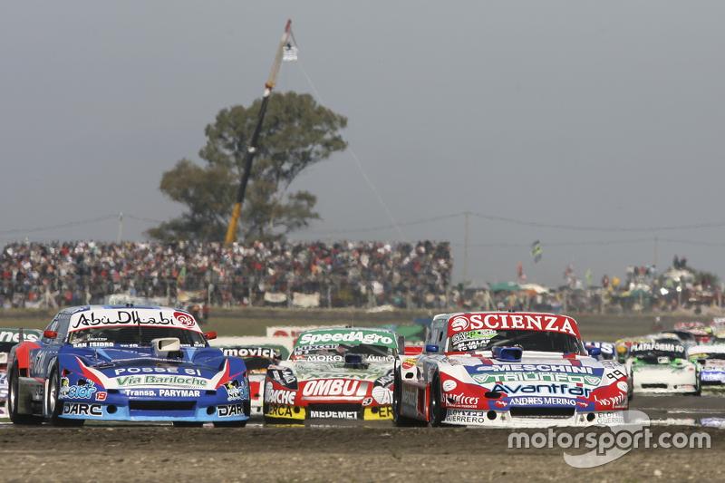 Matias Jalaf, Alifraco Sport Ford, dan Matias Rodriguez, UR Racing Dodge, dan Facundo Ardusso, Trott