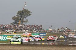 Agustin Canapino, Jet Racing Chevrolet; Juan Manuel Silva, Catalan Magni Motorsport Ford Mauricio La