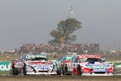 Matias Jalaf, Alifraco Sport Ford y Camilo Echevarria, Coiro Dole Racing Torino