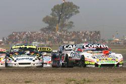 Juan Marcos Angelini, UR Racing Dodge and Emanuel Moriatis, Alifraco Sport Ford and Diego de Carlo, JC Competicion Chevrolet