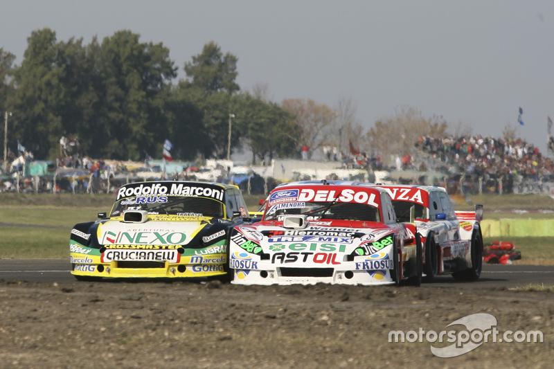 Juan Pablo Gianini, JPG Racing, Ford; Omar Martinez, Martinez Competicion, Ford, und Matias Jalaf, Alifraco Sport, Ford