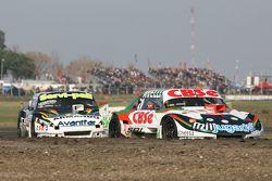 Carlos Okulovich, Maquin Parts Racing Torino and Diego de Carlo, JC Competicion Chevrolet