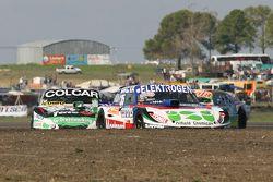 Mathias Nolesi, Nolesi Competicion Ford and Gaston Mazzacane, Coiro Dole Racing Chevrolet