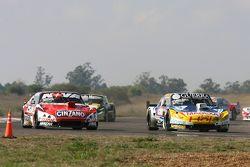 Luis Jose di Palma, Indecar Racing Torino and Matias Rossi, Donto Racing Chevrolet