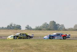 Omar Martinez, Martinez Competicion Ford and Matias Rodriguez, UR Racing Dodge