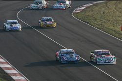 Juan Pablo Gianini, JPG Racing Ford and Matias Rodriguez, UR Racing Dodge and Leonel Sotro, Alifraco