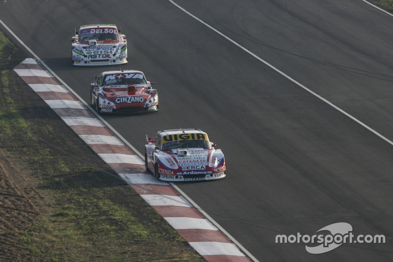 Juan Manuel Silva, Catalan Magni Motorsport, Ford; Matias Rossi, Donto Racing, Chevrolet, und Juan Pablo Gianini, JPG Racing, Ford