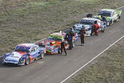Technische Abnahme: Jose Savino, Savino Sport, Ford; Jonatan Castellano, Castellano Power Team, Dodg