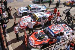 Top 3 #1 Juan Manuel Silva, Catalan Magni Motorsport Ford #2 Guillermo Ortelli, JP Racing Chevrolet #3 Mauricio Lambiris, Coiro Dole Racing Torino