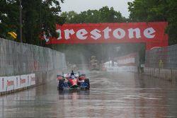 Conditions pluvieuses à Detroit