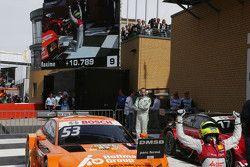 Polesitter en winnaar van race 1 en race 2 Jamie Green, Audi Sport Team Rosberg Audi RS 5 DTM
