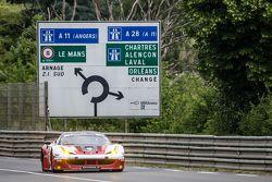 #60 Formula Racing Ferrari 458 GTE: Джонни Лаурсен, Андреа Риццоли, Миккель Мак