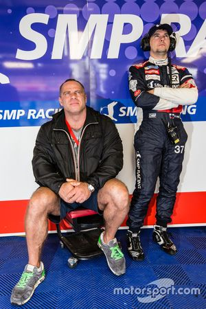 #37 SMP Racing BR01: Sergey Zlobin and Kirill Ladygin