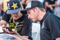 Scott Speed and Tanner Foust