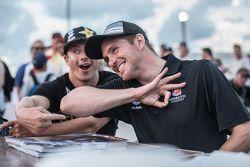 Scott Speed et Tanner Foust