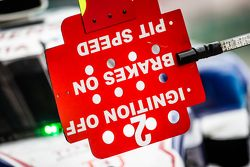 Toyota Racing Toyota TS040 Hybrid pit board