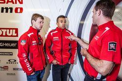 Nissan Motorsports: Mark Shulzhitskiy and Jann Mardenborough