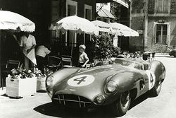 Aston Martin Racing at the Hotel de France in Le Mans in the 1950s