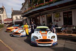 Aston Martin Racing in het Hotel de France