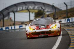 #60 Formula Racing Ferrari 458 GTE: Johnny Laursen, Mikkel Mac, Andrea Rizzoli